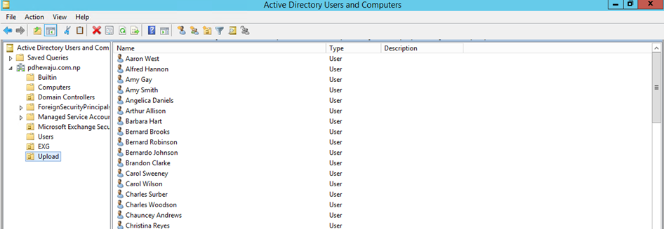 Bulk User Import on Active Directory - Aerrow
