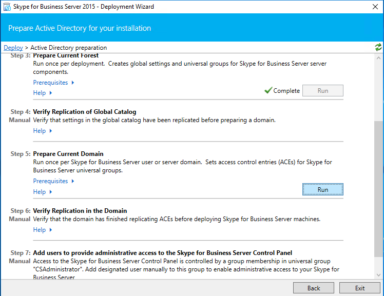 Install and Configure Standalone Skype for Business 2015 on Windows Server  2016 - Aerrow