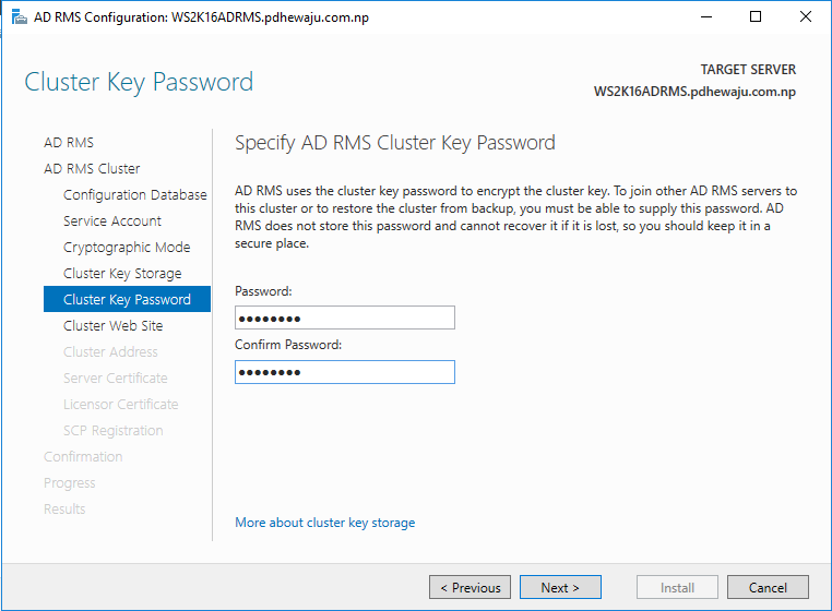 Step by Step] Installing and configuring Active Directory